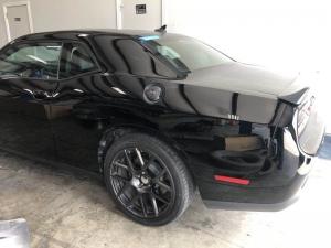 After - 2016 Dodge Challenger 392 Scat Pack Left Quarter Panel Repair