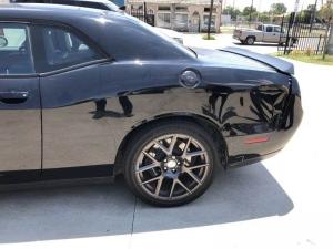 Before - 2016 Dodge Challenger 392 Scat Pack Left Quarter Panel Repair