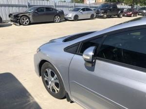 After - 2013 Honda Civic Front Fender Repair in Dallas, TX