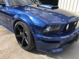 After - 2006 Ford Mustang GT Auto Body Work